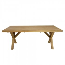 Seoul Solid Oak Dining Table