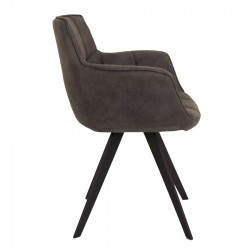 Isla Swivel Dining Chair Anthracite