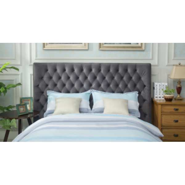 Kingston 5ft Bedframe Dark Grey