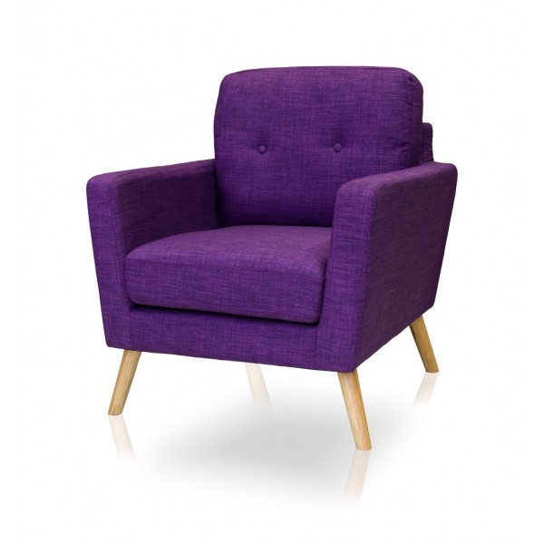 Cleo Aubergine Chair