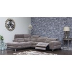 Sorrento Electric Corner Chaise - Coffee
